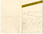 Letter from Rosa to Mr. Kern on lecture, moving Lizzie Kline, now Mrs. Dr. Fogel