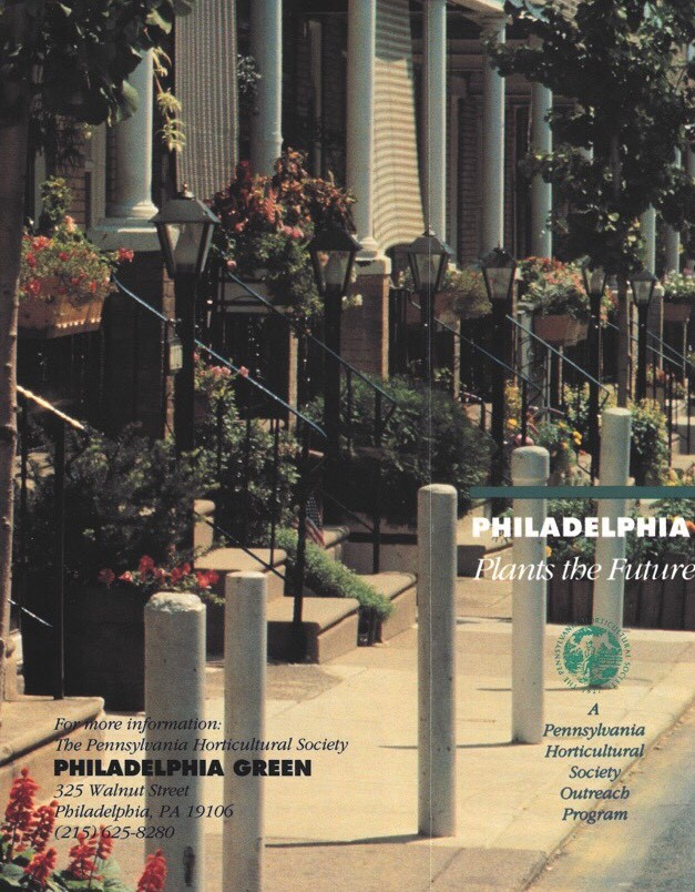 Inventory of the Records of Philadelphia Green and Associated Programs