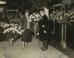 Mrs. Gifford Pinchot and Mayor Mackey, 1931 Philadelphia Flower Show