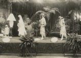 Wedding exhibit, 1929 Philadelphia Flower Show