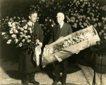 1933 flowers for Eleanor Roosevelt