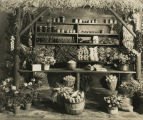 Class 501, Wayside market entry of vegetable stands, 1933 Philadelphia Flower Show