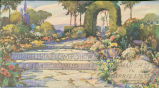 Advertising blotter 1933 Philadelphia Flower Show