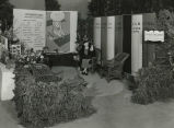 Gardener's Open Book exhibit, 1935 Philadelphia Flower Show