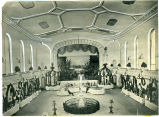 Pennsylvania Horticultural Society's first Horticultural Hall, interior view