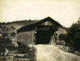 Typical covered bridge