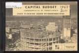 Capital budget, Commonwealth of Pennsylvania and departmental requests for capital improvements in...