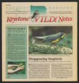Keystone wild notes : a cooperative program of the PA. Game Commission, PA. Fish Commission and...