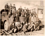 Heavy Equipment Students with World War II Surplus Army Truck