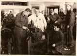 Civilian Conservation Corps Auto Shop. Harry Knight, Instructor
